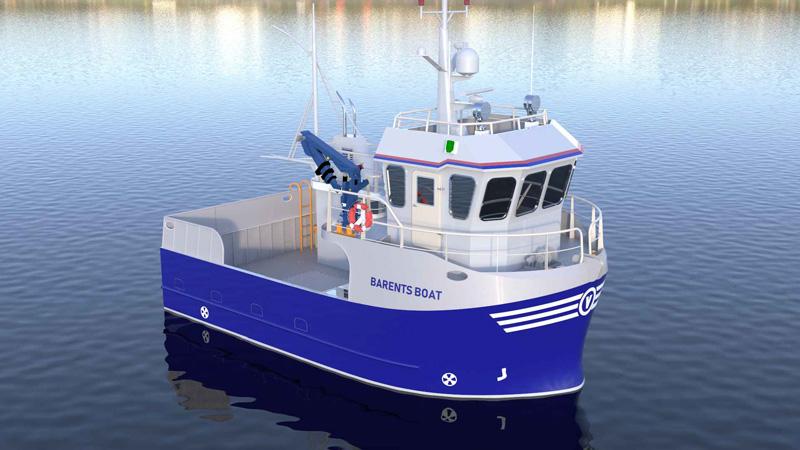 Barents Boat 10,95